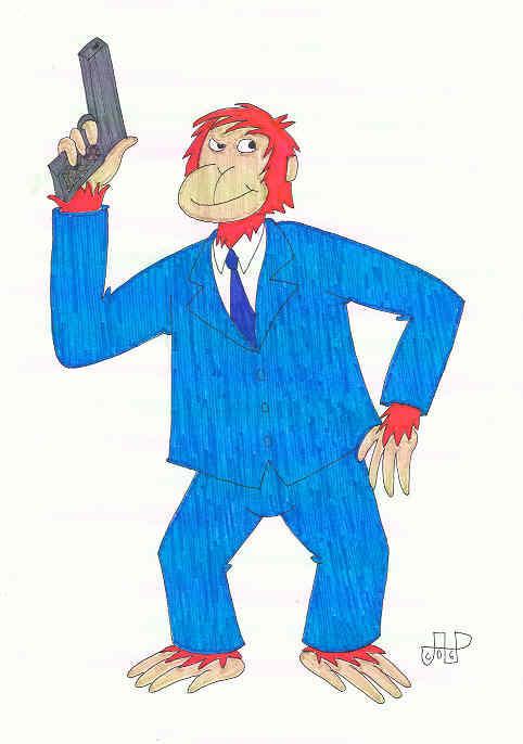 O'Reilly Orangutan, P.I. by EmperorNortonII