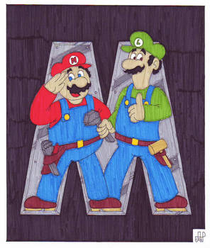Super Mario Bros. by EmperorNortonII
