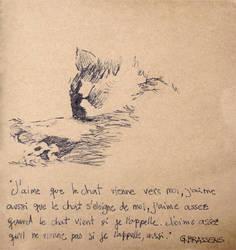 le chat par Brassens by deboraborba
