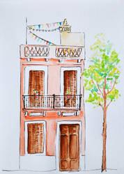 Casinha em Barcelona by deboraborba