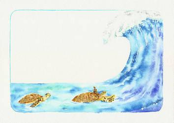 Les tortues by deboraborba
