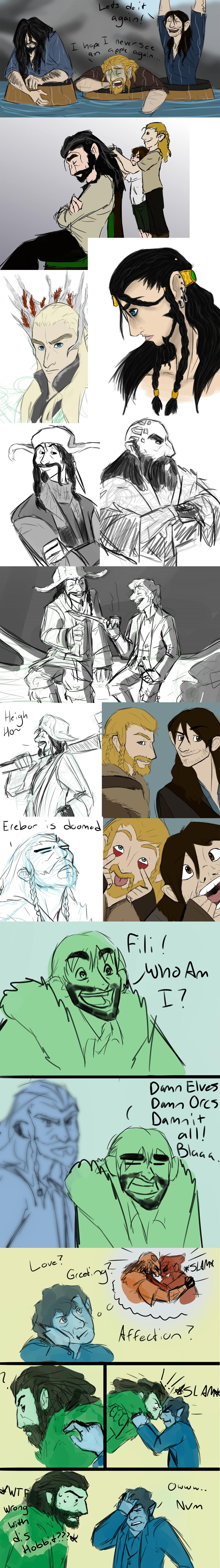 Hobbit dump by Skulleton