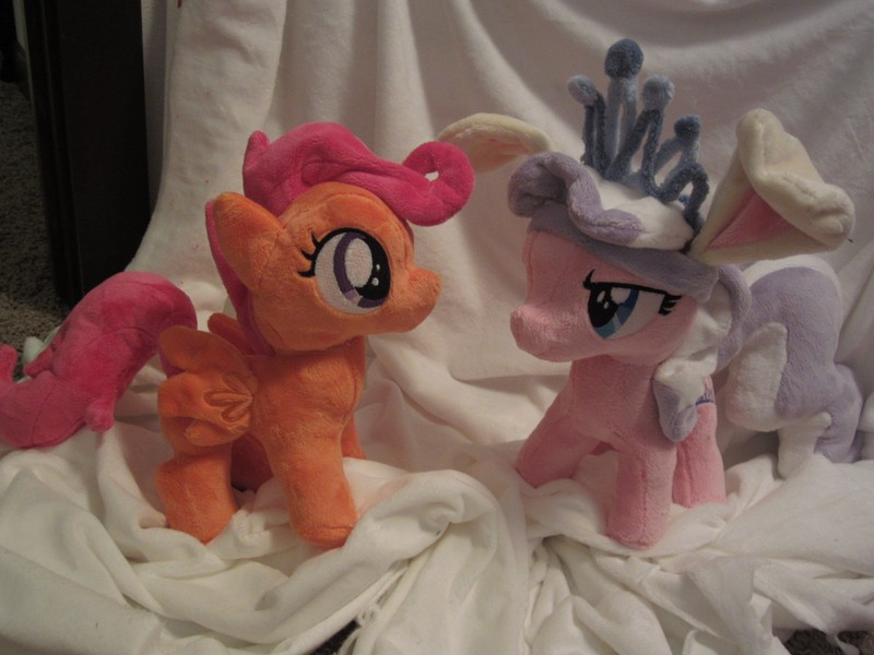 custom Scootaloo and diamond tiara plush by Little-Broy-Peep