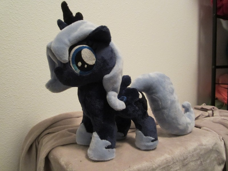 my little pony Filly Luna Plush by Little-Broy-Peep