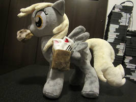 my little pony Derpy hooves Plush by Little-Broy-Peep