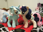 Bon Bon and Lyra Heartstrings plush