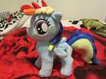 my little pony Rainbow Dash Filly plush