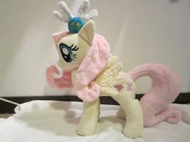 My little pony Fluttershy plush by Little-Broy-Peep