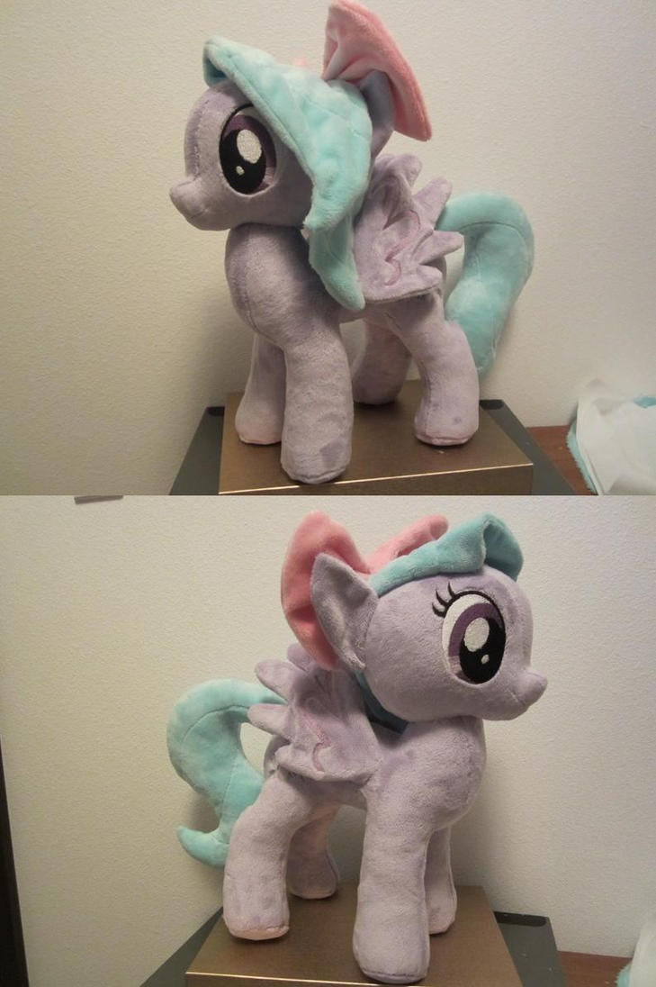 My little pony Flitter Plushie by Little-Broy-Peep