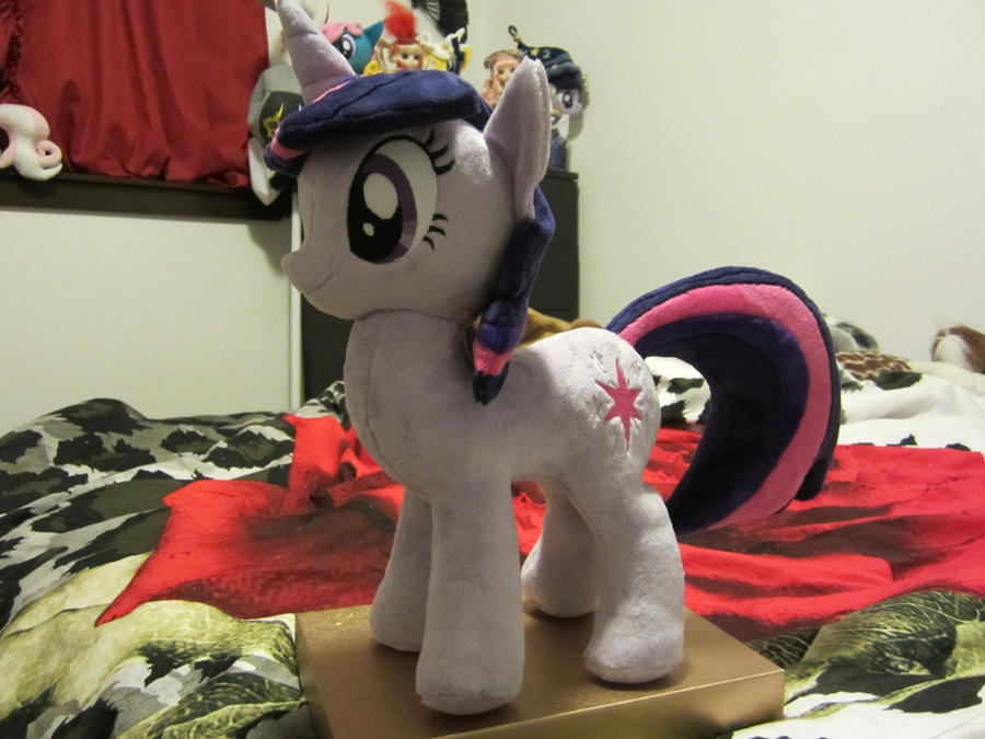 MLP Twilight sparkle Plushie (commission) by Little-Broy-Peep