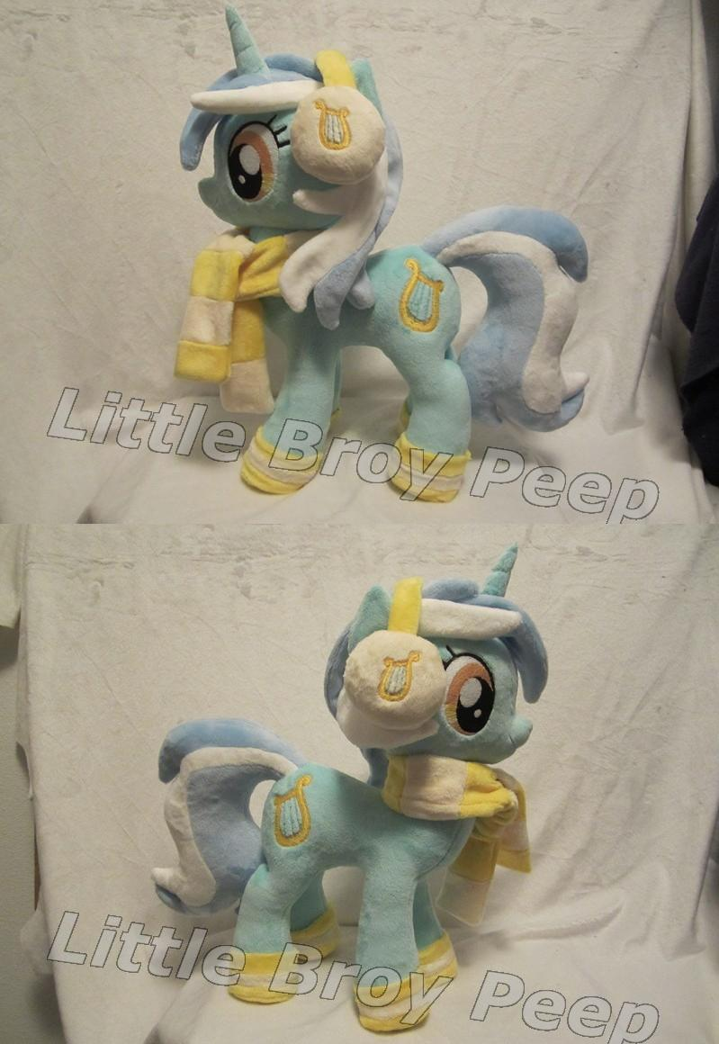 My little pony lyra heartstrings plush by Little-Broy-Peep