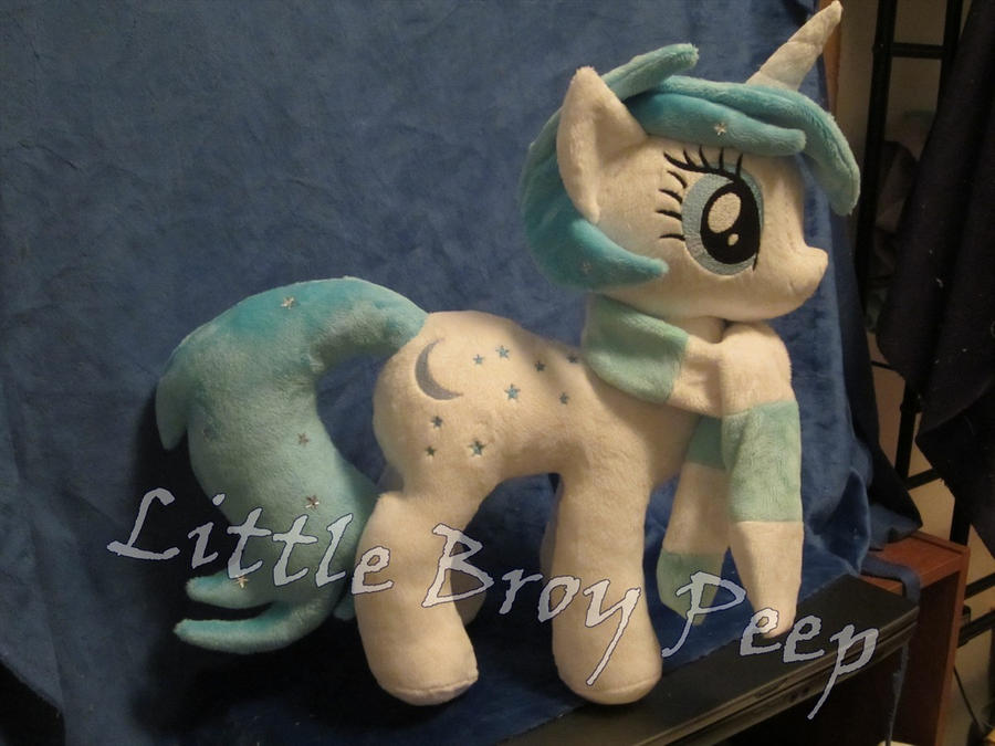 Custom OC my little pony Plush Star shine by Little-Broy-Peep