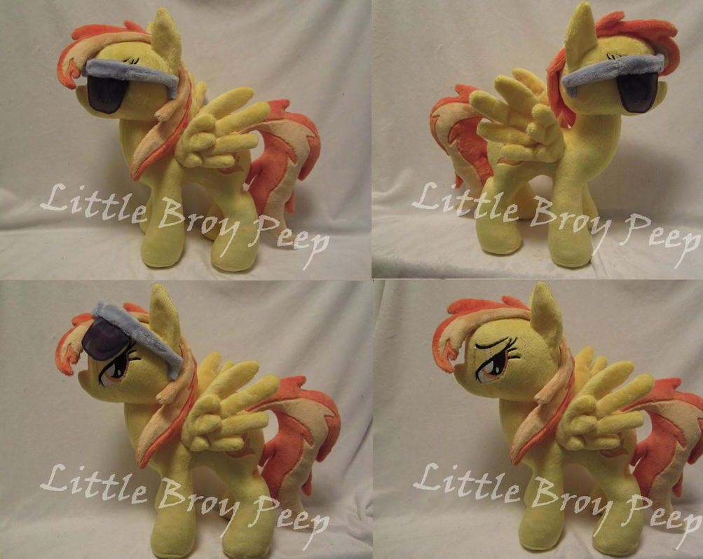 My little pony Wet mane Spitfire (commission) by Little-Broy-Peep