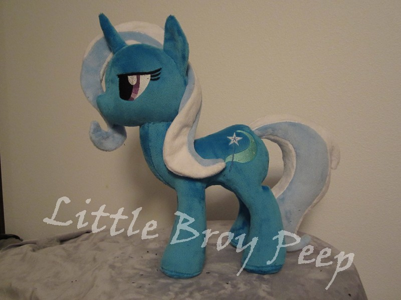 my little pony Trixie WIP by Little-Broy-Peep