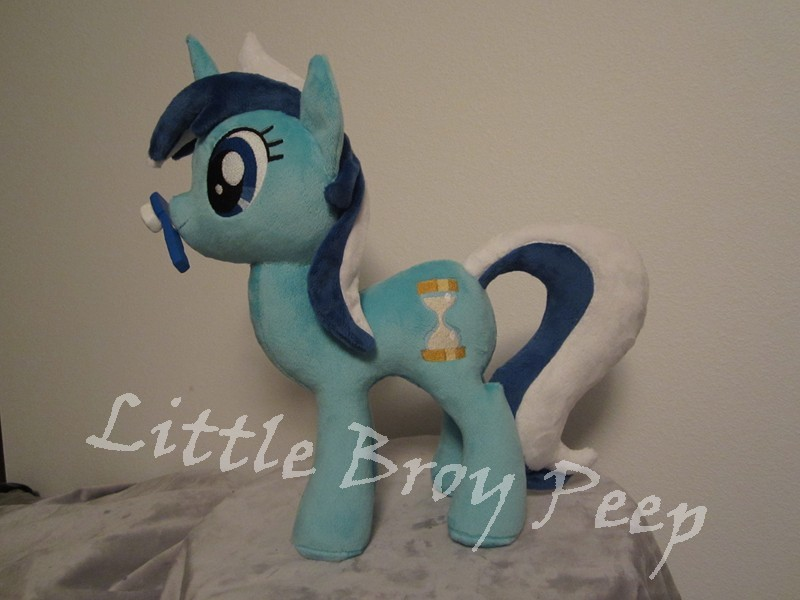 my little pony Colgate Minuette plush by Little-Broy-Peep