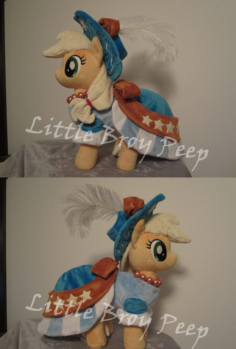 my little pony Applejack (commission) by Little-Broy-Peep
