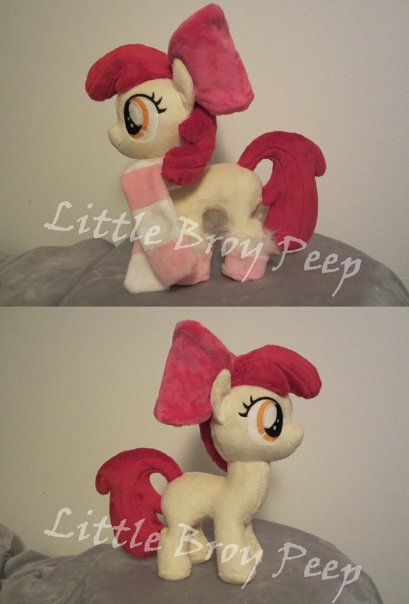 my little pony Applebloom plush by Little-Broy-Peep