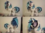 my little pony vinyl scratch Djpon3 plush for sale