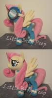 mlp Fluttershy Wonderbolt plush (commission)