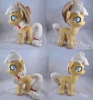 mlp Filly Applejack plush by Little-Broy-Peep