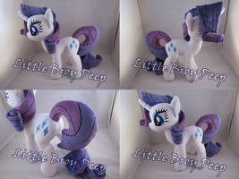 My Little Pony Rarity Plush by Little-Broy-Peep