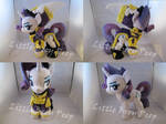 mlp Wonderbolts General Rarity plush (commission)