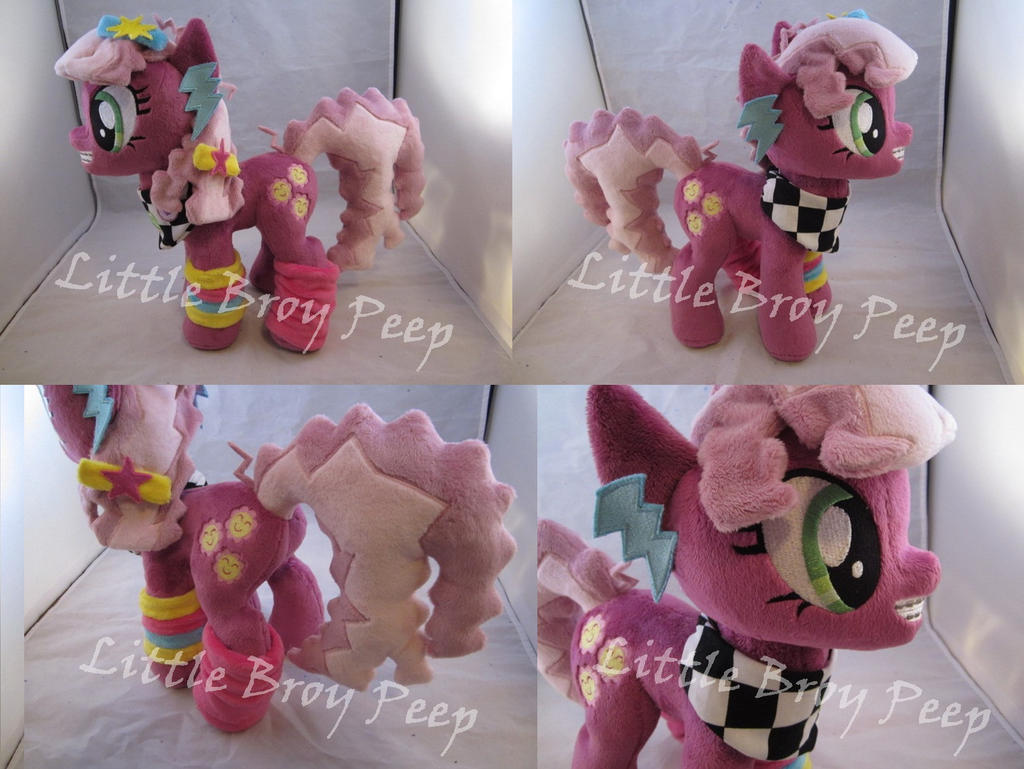 mlp 80s Cheerilee plush (commission) by Little-Broy-Peep