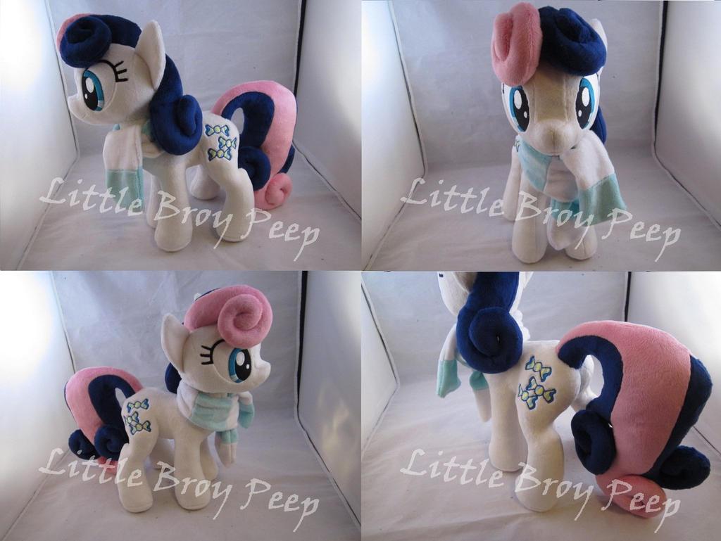 mlp Bonbon plush by Little-Broy-Peep