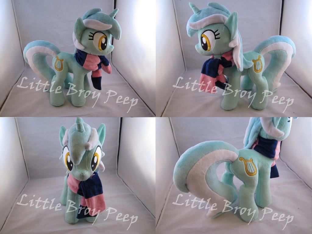 mlp Lyra plush by Little-Broy-Peep