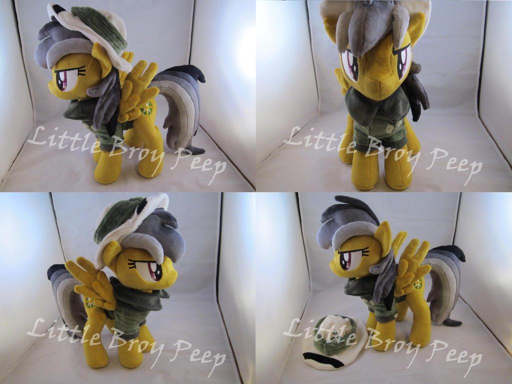 mlp Daring Do plush by Little-Broy-Peep