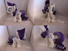 MLP Rarity Plush by Little-Broy-Peep