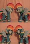 Double Rainbow Dash Plushies!