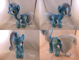 MLP Trixie Plush by Little-Broy-Peep
