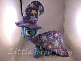 MLP Trixie Plush by Little-Broy-Peep