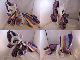 MLP Rainbow Power Rarity Plush (commission) by Little-Broy-Peep