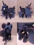 MLP Princess Luna Plush (commission)