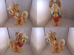 MLP Applejack Plush (commission)