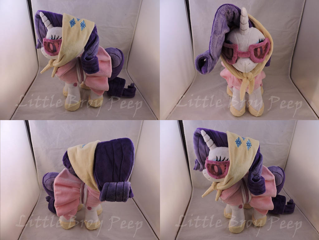 MLP Camping Rarity Plush (commission)