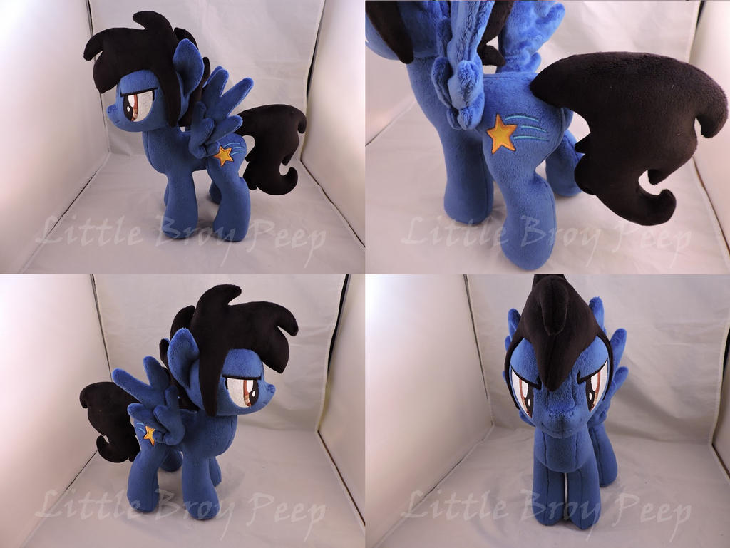 MlP OC Xeto Plush (commission) by Little-Broy-Peep