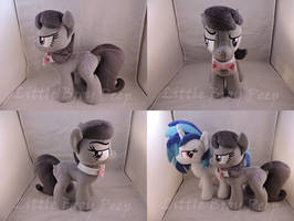 MLP Octavia Plush (commission) by Little-Broy-Peep