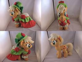 MLP Applejack Plush (commission) by Little-Broy-Peep