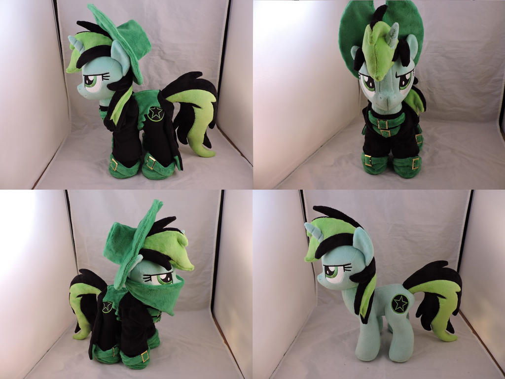 MLP OC Nitro Plush (commission)