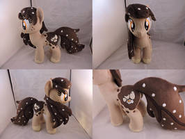 MLP OC Bonny D Eierschecke Plush (commission) by Little-Broy-Peep
