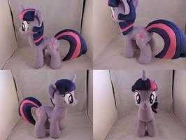 MLP Twilight Sparkle Plush by Little-Broy-Peep