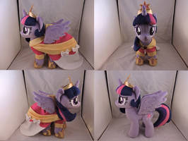 MLP Twilight Sparkle Plush (commission) by Little-Broy-Peep
