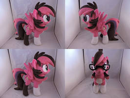 MLP OC Artista Plush (commission) by Little-Broy-Peep