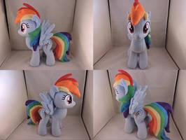 MLP Rainbow Dash Plush by Little-Broy-Peep