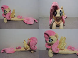 MLP Seapony Fluttershy Plush (commission) by Little-Broy-Peep