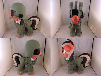 MLP OC Dustbowl Dune Plush (commission) by Little-Broy-Peep