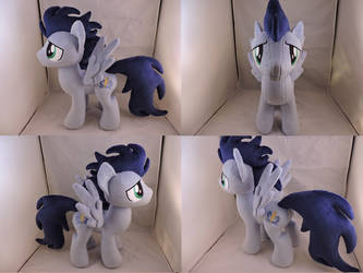 MLP Soarin Plush (commission) by Little-Broy-Peep